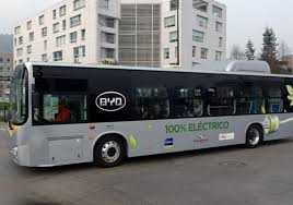 100 BUSES ELÉCTRICOS DE CHINA PARA CHILE